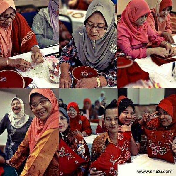 Foto Kursus Jahitan Manik di Baling