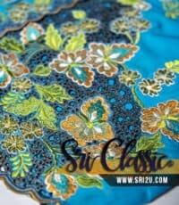 Tempahan Sulam Baju Kebaya Pengantin Bunga Songket