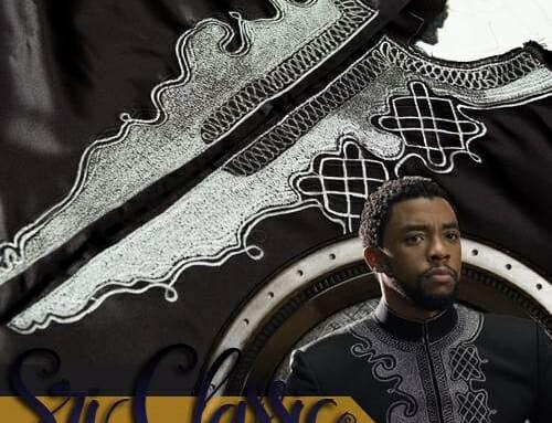 Corak Sulam T'Challa Wakanda – Black Panther