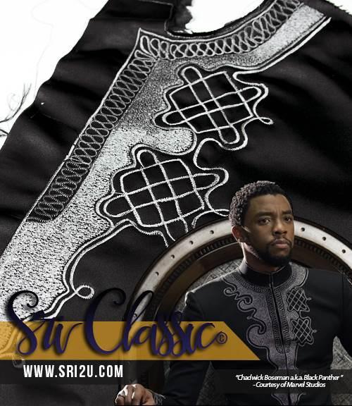 Corak Sulam T'Challa Wakanda Coat - Black Panther