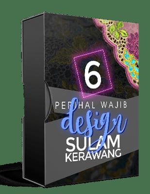 6 Perihal Wajib Design Sulam Kerawang