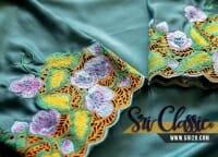 Sulam Tebu Baju Kurung Teluk Belanga Johor