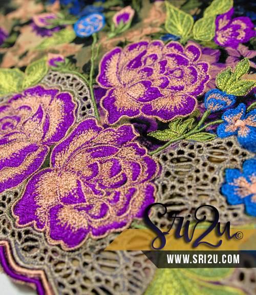 Baju Kurung Malaysia Sulam Goyang