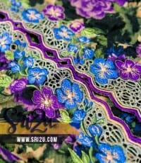 Baju Kurung Malaysia Sulaman Goyang