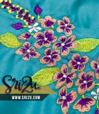 Baju Kurung Malaysia Sulam