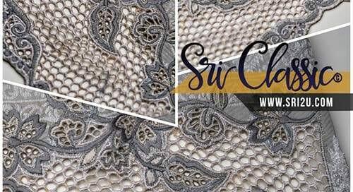 Design Sulaman Kerawang Baju Kurung Riau